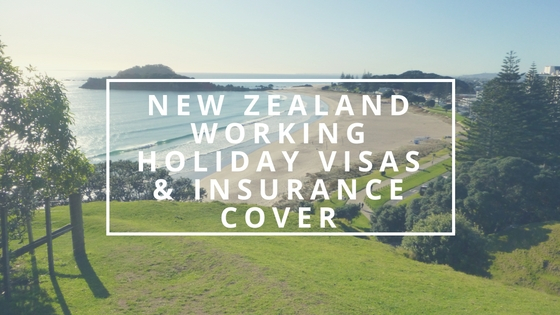 New Zealand Working Holiday Visas and Insurance Cover blog image Health and travel insurance NZ.